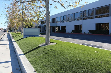 Water Conserving Synthetic Grass for Commercial Landscaping
