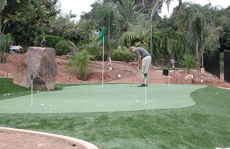 Synthetic Turf Mini Golf Course