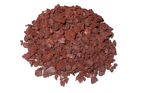 Rubberway Pigmented Recycled Rubber Bits