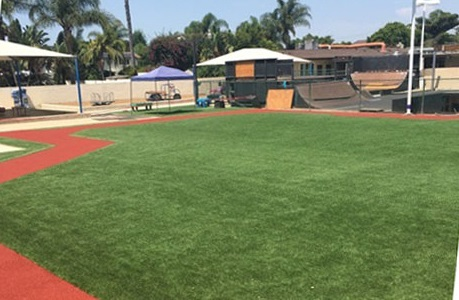 Synthetic Turf School Mini Pitch Field
