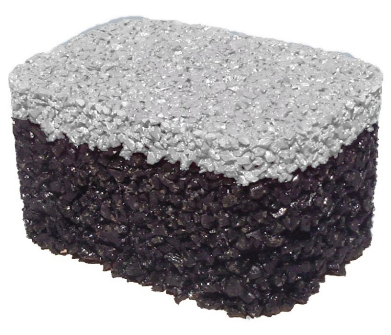 dual layer rubber tree well