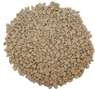 Tan EPDM rubber materials