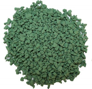 Green EPDM rubber material
