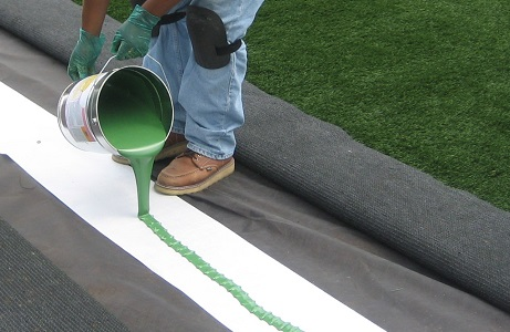 Green Glue for Synthetic Turf Seams