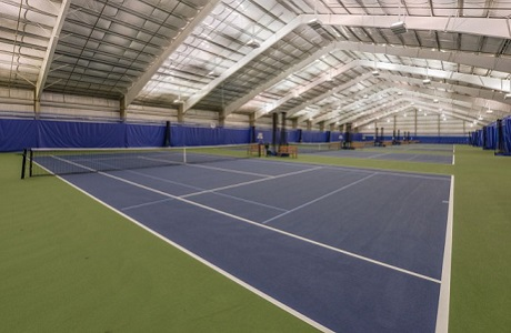 Indoor Tennis Court Surfacing