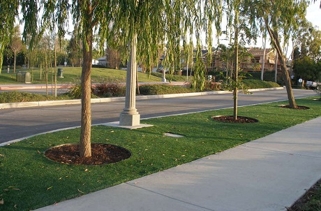 Municipal Landscaping Artificial Turf