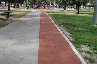 Obregon Park Running Trail