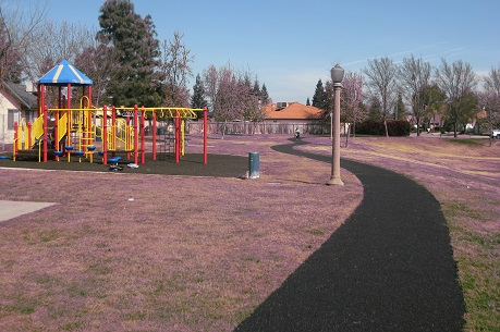 Walkways Around Parks and Playgrounds