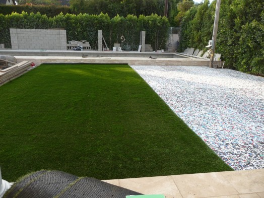 Dead grass artificial turf for landscaping