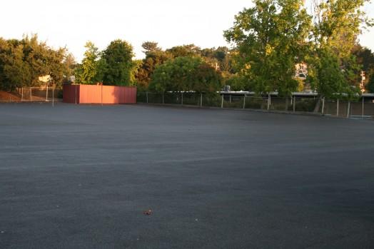 Porous Pavement School Blacktops