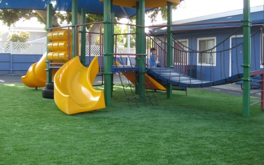 Playground Grass at Daycare