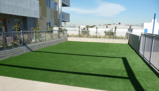 PolyTurf Rooftop Can Filter Storm Water Run Off