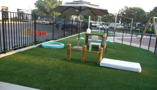 Low Maintenance and Durable Synthetic Turf for Play Areas