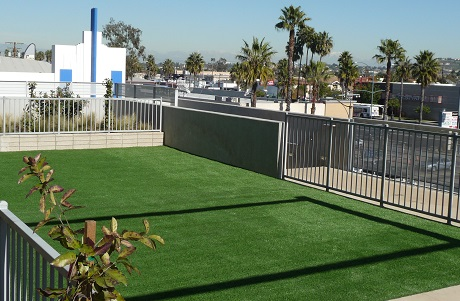 Synthetic Grass Rooftop Play Area