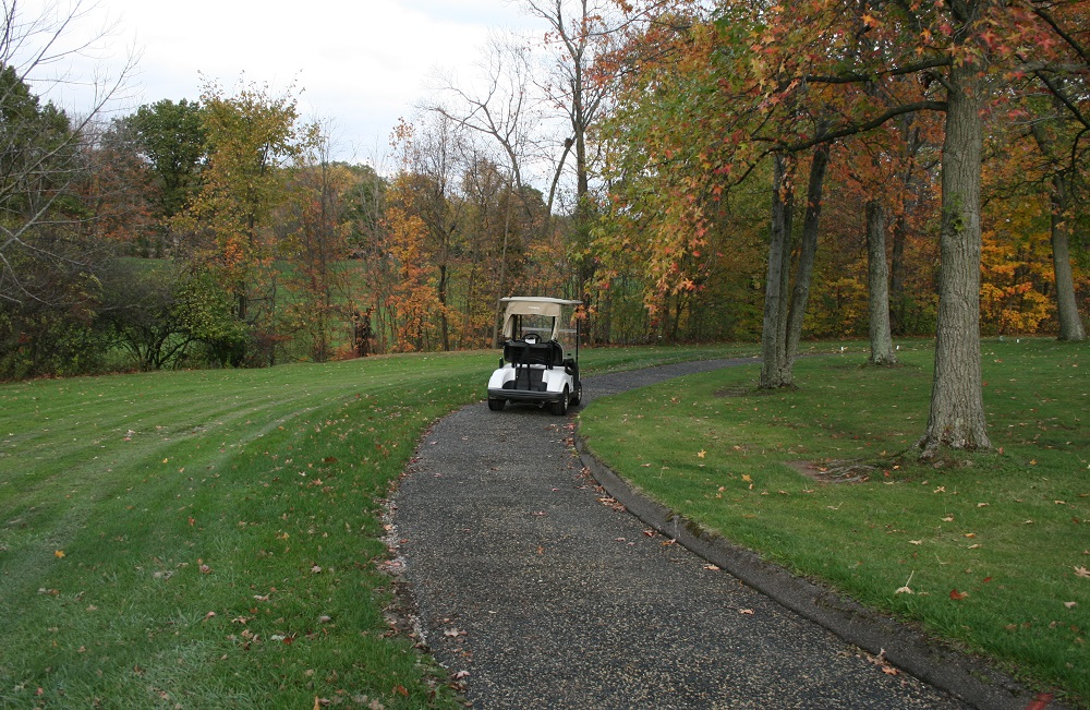 Rubber Golf Cart Path