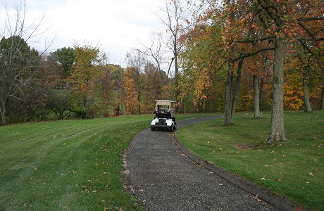 Rubberway Porous Rubber Golf Cart Path