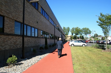 Rubberway rubber sidewalks at Bed Bath and Beyond corporate campus