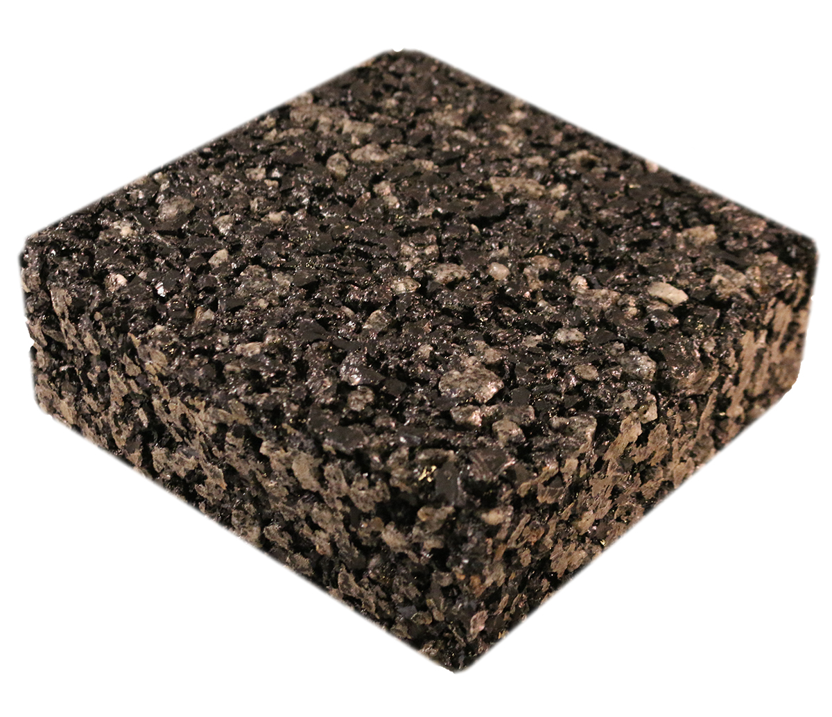 Permeable Parking Lot Alternative porous rubber pavement