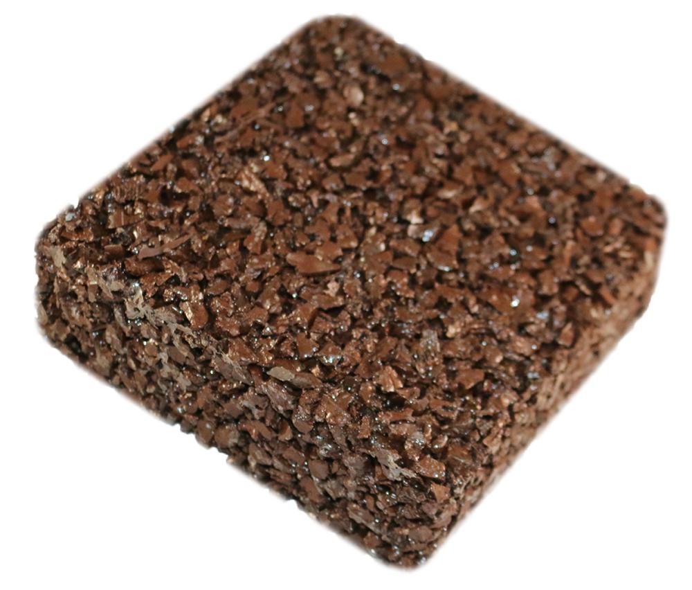 Rubberway flexible porous rubber pavement