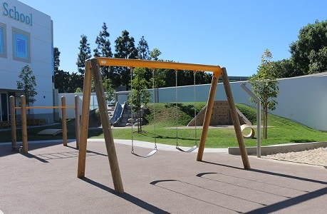 Playground Surface at Private School