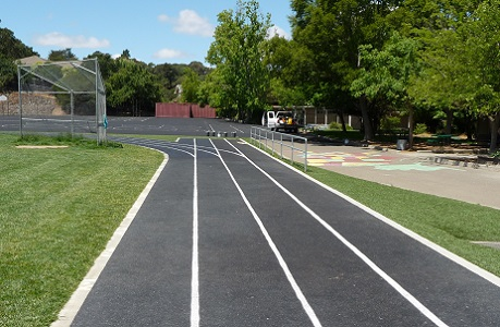 Pervious Pavement for Running and Agility Training