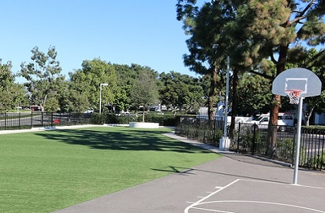 Synthetic Grass School Field