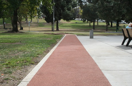 Walking and Jogging Trails at Community Parks