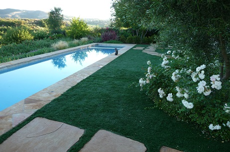 Artificial Grass Poolscape