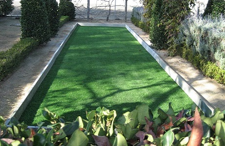 Synthetic Turf Bocce Ball Court