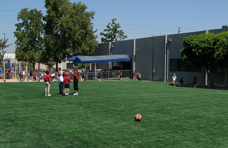 Community Center Synthetic Turf Field
