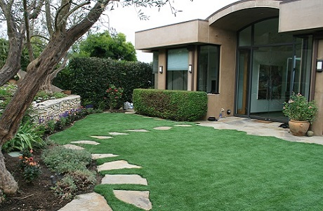 Artificial Grass Luxury Residential Landscape