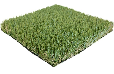 Imperial Deluxe Synthetic Turf with Natural Tan Thatch