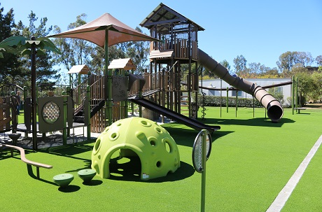 Artificial Turf Playground Safety Surface