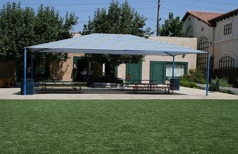 Artificial Turf Recreation Center Field