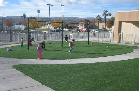 Synthetic Grass For Parks and Playgrounds