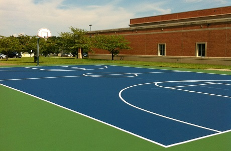 Versacoat Basketball Court Surface